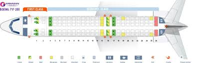 Hawaiian Airlines Flight 25 Seating Chart Hawaiian Airlines Fleet Boeing 717 200 Details And Pictures