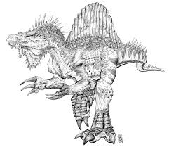 Small Picture Beautiful Spinosaurus Coloring Pages 46 On Picture Coloring Page
