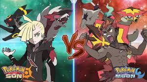 Pokemon Sun and Moon: Gladion Vs Kiawe (Ash's Rival Battle) - YouTube