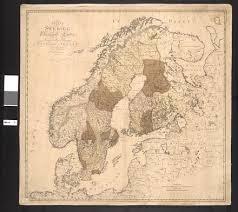 خريطة شبه جزيرة إسكندنافيا التي تقع في شمال أوروبا، وتتكون من الدول التالية: السويد Wikiwand