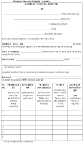 industry analysis template industry analysis template
