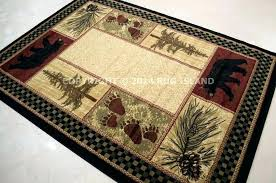 rustic cabin lodge area rugs fishing area rug rustic rugs by wildlife wonders rustic area rugs model home homes kitchen city by cabin area rugs sold