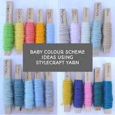Baby Colour Scheme Ideas Using Stylecraft Yarns Special Dk