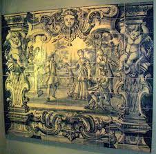 Rococo Decorative Wall Tile Rococo interior Naergi's Costuming Site 33