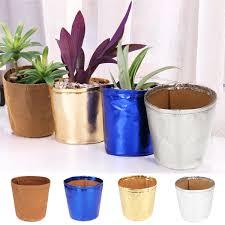 Paper Flower Pots Garden Decoration 9x12cm Paper Bag Plant Flower Pots Washable Reuse Kraft Multifunction Home Storage