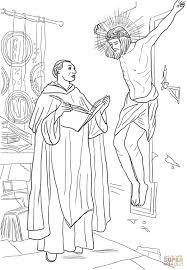 St Thomas Aquinas Coloring Page