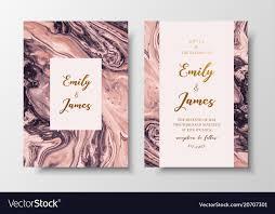 Modern Design Wedding Invitation Liquid