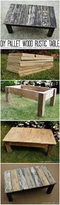 outdoor pallet wood. Diy Pallet Wood Table At The36thavenue.com Outdoor R