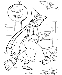 Small Picture Free Printable Witch Coloring Pages For Kids