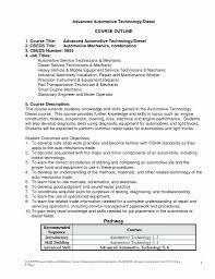Automotive Technician Resume Best Of 20 Diesel Mechanic Resume