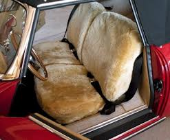 all sheepskin bench seat covers from