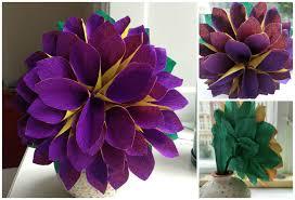 Flower Making Paper Making Paper Flowers