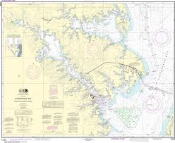 Noaa Nautical Chart 12282 Chesapeake Bay Severn And Magothy Rivers