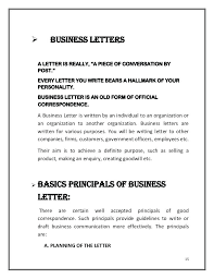 Business Letters Format Of And Letter With Poorly Written Guidelines