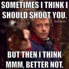 Les Miserables on Pinterest | Meme, Funny and Mean Girls via Relatably.com