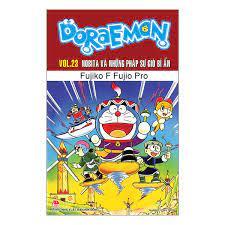 Doraemon - Truyện dài - Tập 23: Nobita Và Những Pháp Sư Gió Bí Ẩn (Tái Bản  2019)
