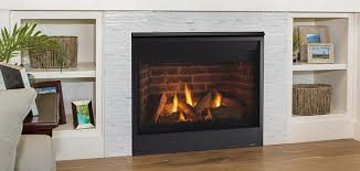 majestic quartz 36 direct vent gas fireplace with intellifire touch ignition