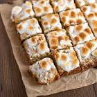 banana marshmallow squares