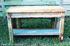 rustic kitchen island: how to build a rustic kitchen island and bench using driftwood rustic woodworking youtube