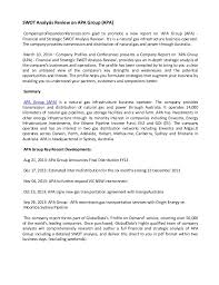 swot analysis review on apa group apa swot analysis review on apa group apa companyprofilesandconferences com glad to promote a