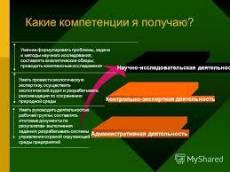 Презентация на тему Магистерская программа Экологический  4 Магистерская программа