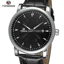 compare prices on watch company men online shopping buy low price fsg8051m3s5 latest winner autoamtic self wind men s watch gift box black leather strap factory