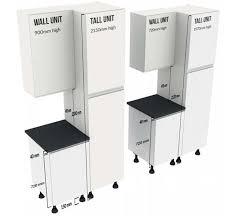 worktop wall unit gap 490mm