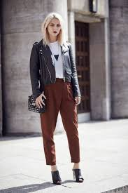 how to wear black leather jackets