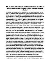 essay in english english sample essays gxart th sep teachers  my mother essay in english a essay on my mother my mother is my hero essay