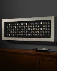 on rectangular wall art uk with rectangle silver and gold cube framed box wall art