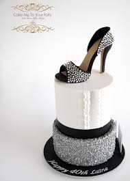 40th Birthday Cake 1007 Cakes Cakesdecor