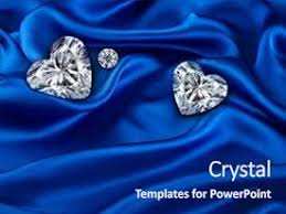 Top Blue Satin And Diamond Powerpoint Templates Backgrounds Slides