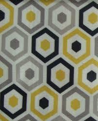 Curtain Fabric Belgrave Geometric Print Curtain Fabric Art Deco Curtain Fabric
