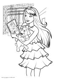 29 Coloring Pages For Barbie Best 25 Barbie Coloring Pages Ideas