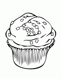 Free Printable Cupcake Coloring Pages For Kids Painting Cupcake