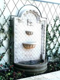 wall fountains outdoor water wall fountain outdoor 5 good looking outside fountains large waterfall garden out