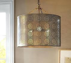 metal drum shade pendant light and pertaining to decorations 5 metal drum pendant lamp