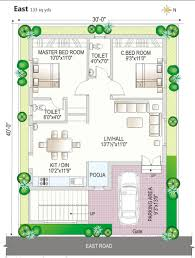 House Plan Design 30x40 East Facing Site Homes Zone East Facing House Vastu Plan With Pooja Room Home Designs