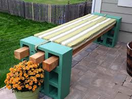 diy cinder block bench home design garden architecture blog