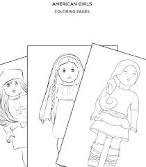 Free Printable American Girl Doll Coloring Pages Girl Coloring Pages