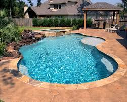 Pool Designs Spring Tx Spring Tx Swimming Pool Builder Platinum Pools