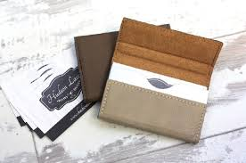 Personalized Business Card Holder Custom Business Card Holder
