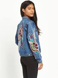 wgsn embroidered denim jacket trend gucci littlewoods