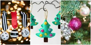 Small Picture 50 Homemade Christmas Ornaments DIY Handmade Holiday Tree