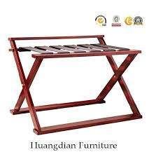 hotel luggage rack. Foldable Solid Wood Luggage Rack For Budget Hotel (HD991)