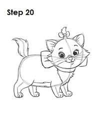 Drawn Kittens Aristocats Free Clipart On Dumielauxepicesnet