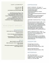 Two Column Resume Template Latex Resume Templates Free 2 Column Cv