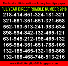 Thai Lottery Chart Clue Thai Lotto F