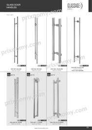 door handle collection ozone glass door handle pictures idea sliding hardware shower hardware glass