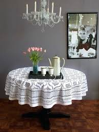 gray round tablecloth black white vintage glamour round tablecloth use our colorful cotton tablecloths to set gray round tablecloth